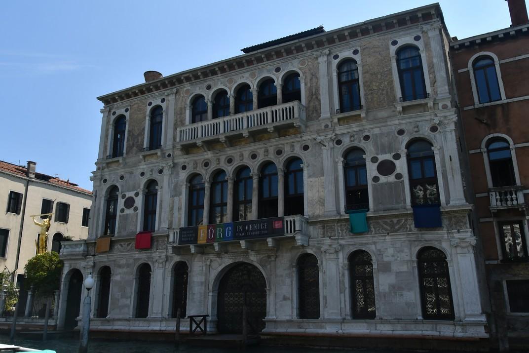 Palau Contarini Polignac del Gran Canal de Venècia