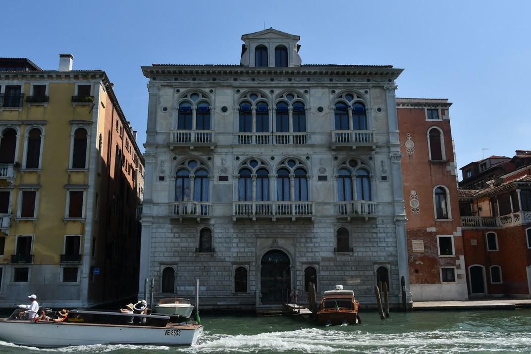 Palau Corner-Spinelli del Gran Canal de Venècia