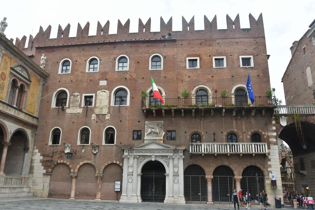 Palau del Podestà de la plaça dels Signori de Verona