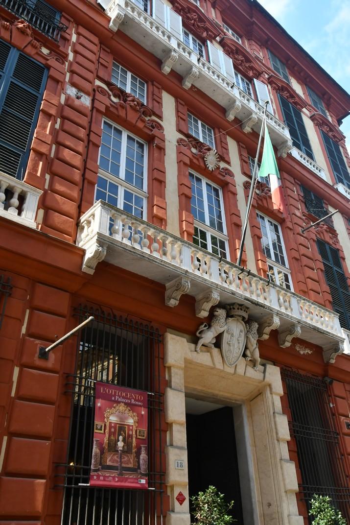 Palau Ridolfo Maria i Gio Francesco Brignole Sale - Vermell de Gènova
