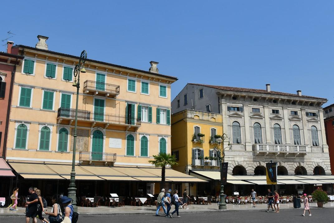 Palaus del passeig del Liston de Verona