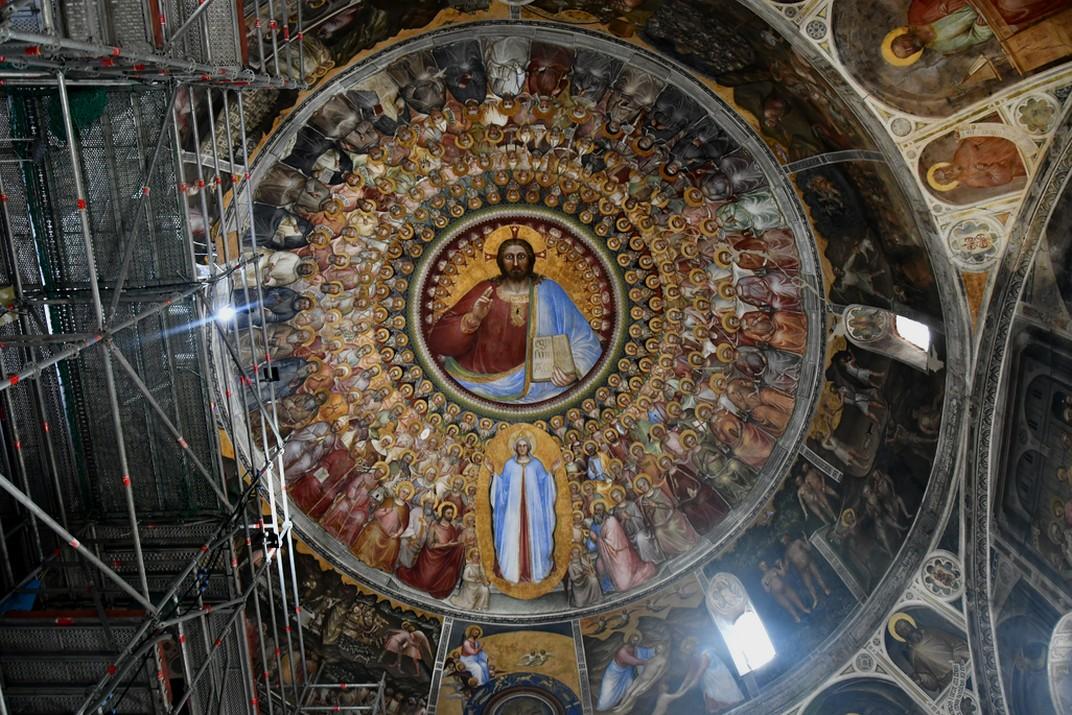 Paradís de la cúpula del Baptisteri de la Catedral de Santa Maria Assumpta de Pàdua