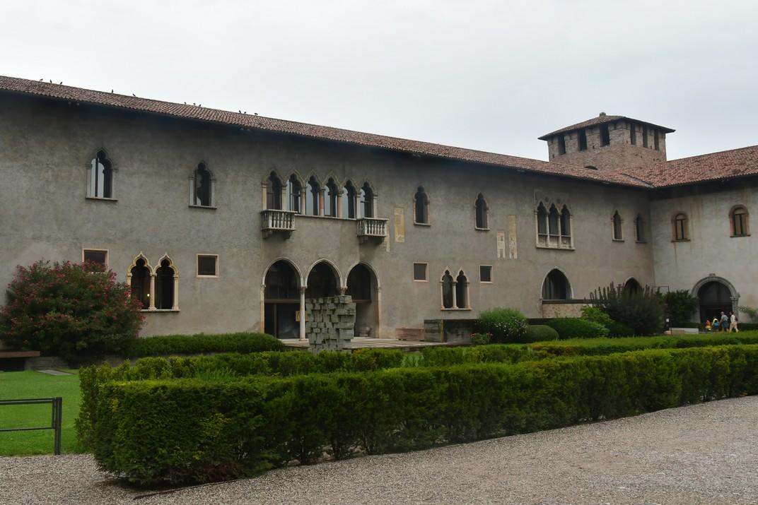 Pati interior de Castelvecchio de Verona