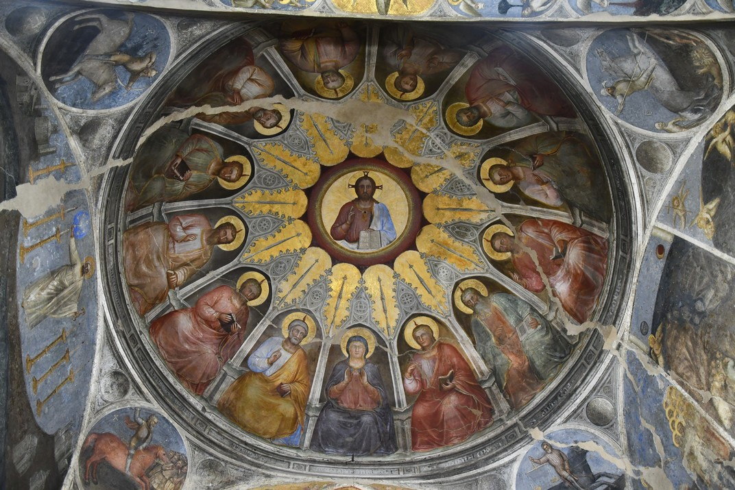 Pentecosta de la cúpula de l'absis del Baptisteri de la Catedral de Santa Maria Assumpta de Pàdua