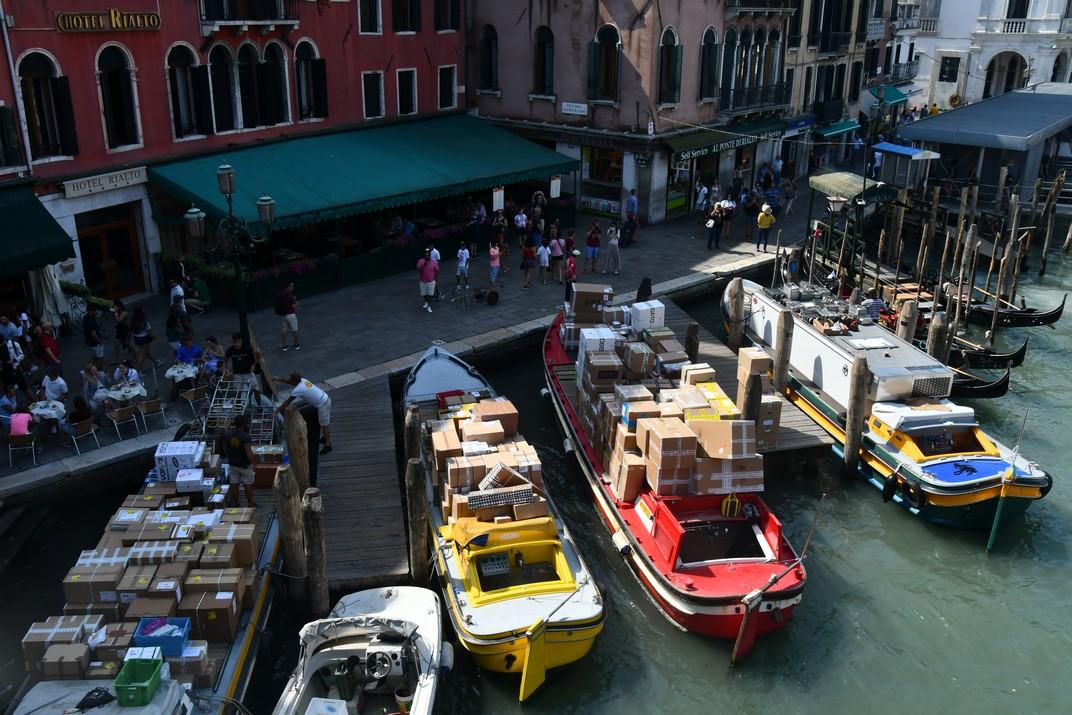 Pescaria san Bartolomio de Venècia