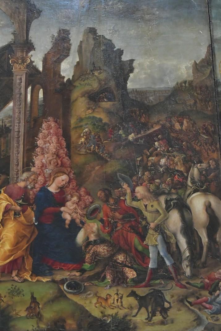 Pintura de la capella Calcasoli de la Catedral de Santa Maria Assumpta de Verona
