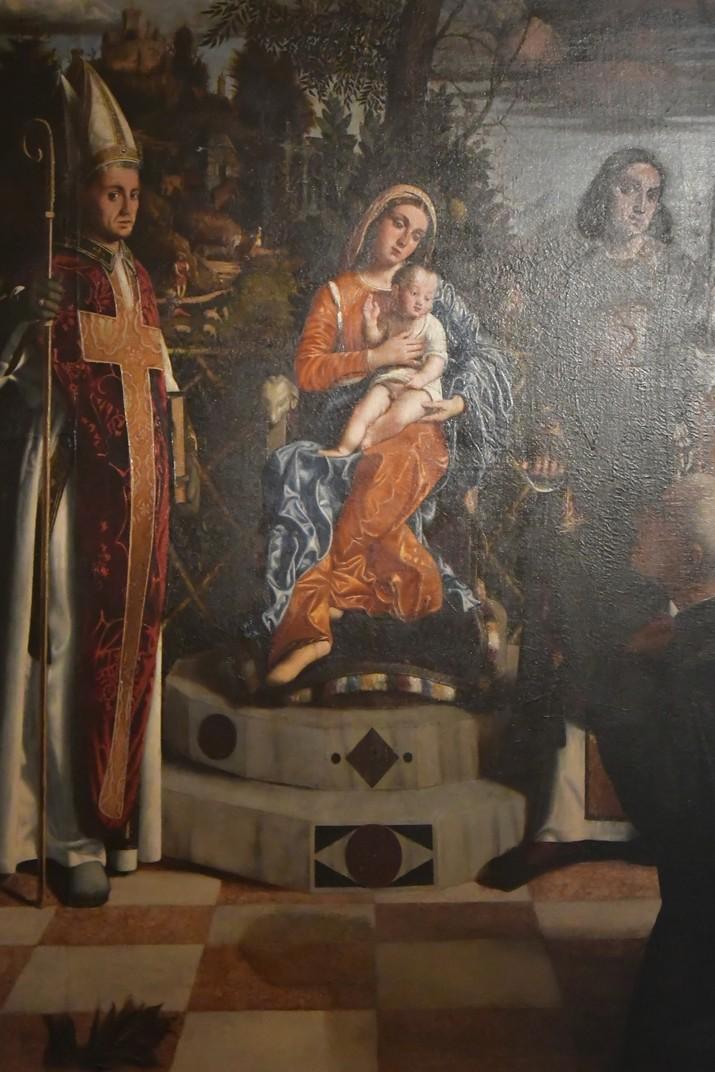 Pintura de l'església de Sant Joan de la Font del conjunt catedralici de la Catedral de Verona