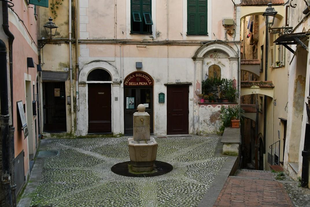 Plaça Capítol de la Pigna de Sanremo