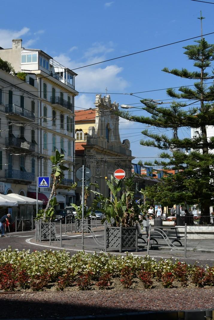 Plaça Colombo de Sanremo