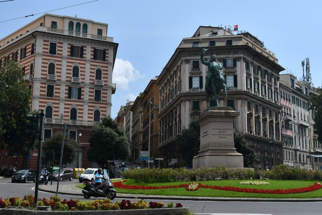 Plaça Corvetto de Gènova