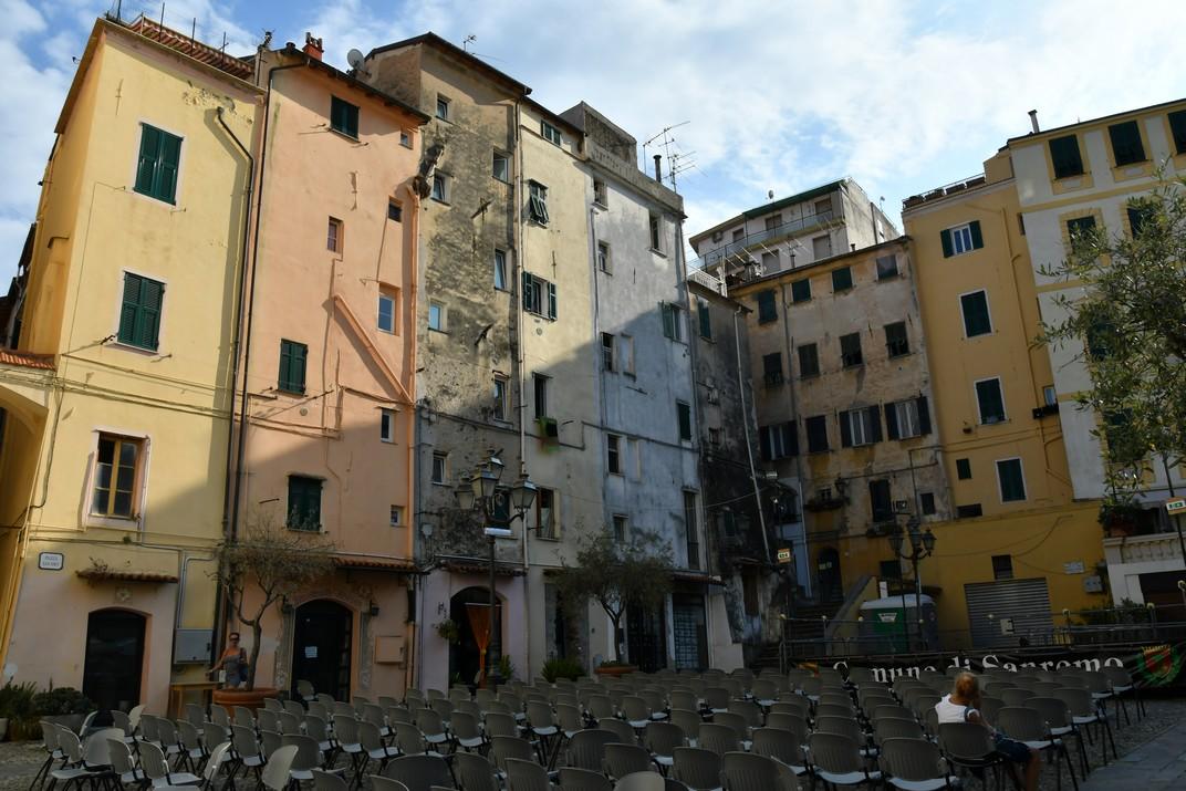 Plaça Sant Siro de Sanremo