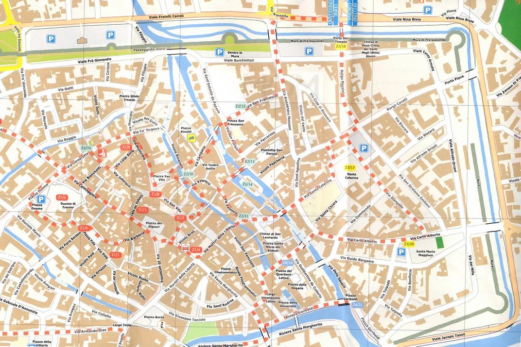 Plànol de Treviso