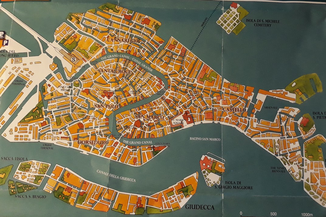 Plànol de Venècia