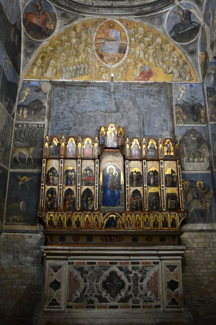 Políptic de l'absis del Baptisteri de la Catedral de Santa Maria Assumpta de Pàdua