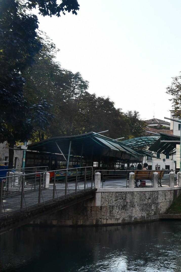 Pont de ferro del mercat del peix de Treviso