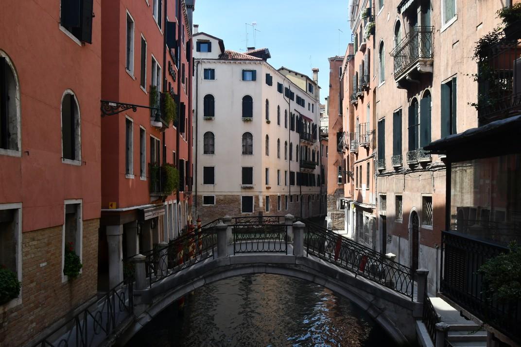 Pont dels Pignoli del barri de San Marco de Venècia