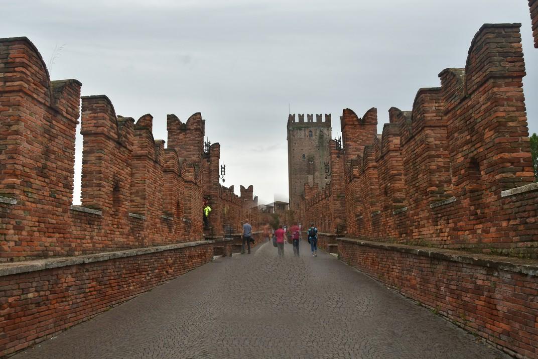 Pont fortificat de Castelvecchio de Verona
