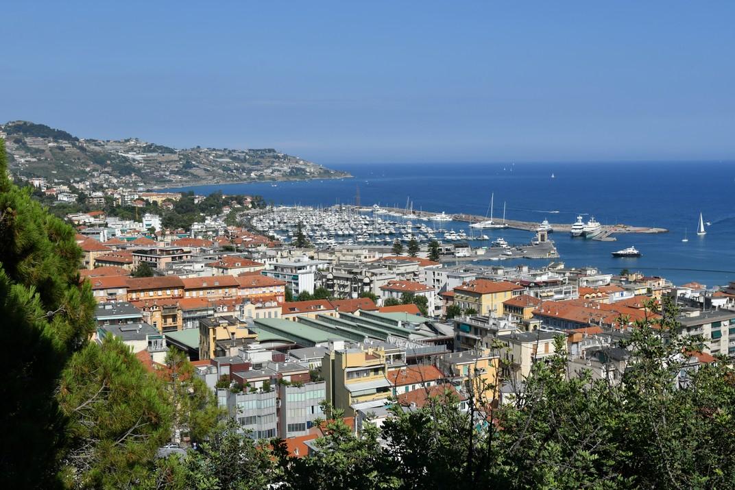 Port des de la Pigna de Sanremo