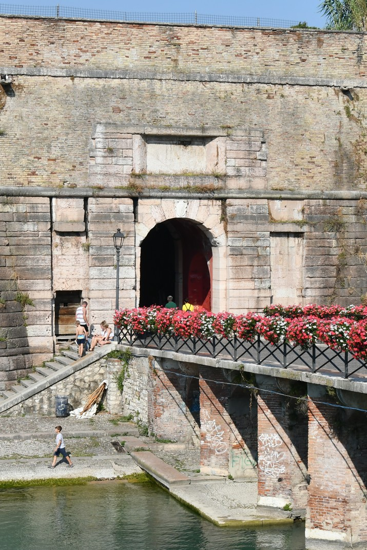 Porta Brescia de Peschiera del Garda