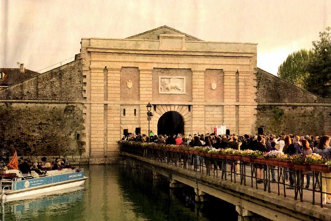 Porta Verona de Peschiera del Garda
