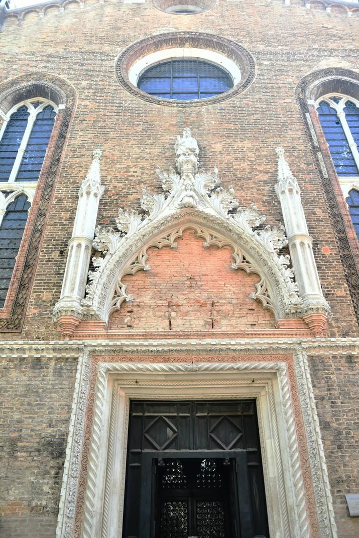 Pòrtic de l'església de Sant Esteve de Venècia
