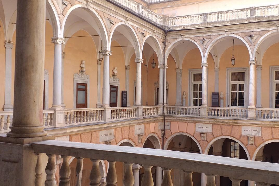 Primer pis Palau Doria-Tursi - Ajuntament de Gènova