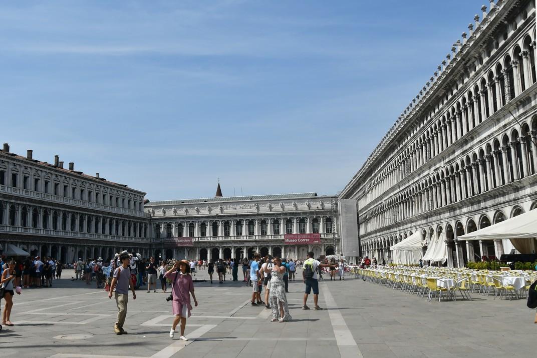 Procuradories i ala napoleònica de la plaça de San Marco de Venècia