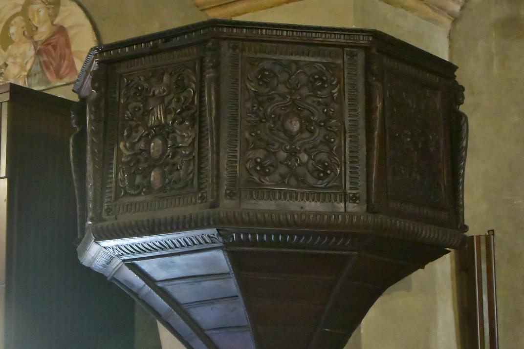Púlpit de l'església de Santa Maria Major de Sirmione de Garda