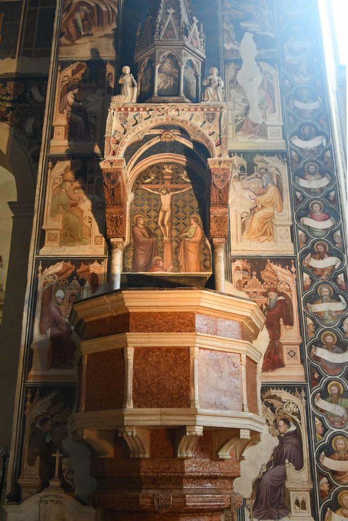 Púlpit de l'església superior de Sant Fermo Major de Verona