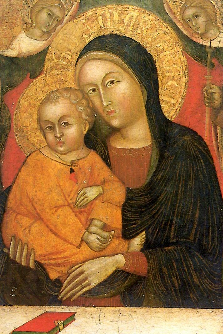 """Quadre """"Madonna delle Costa"""" del Santuari de Nostra Senyora de la Costa de Sanremo"""
