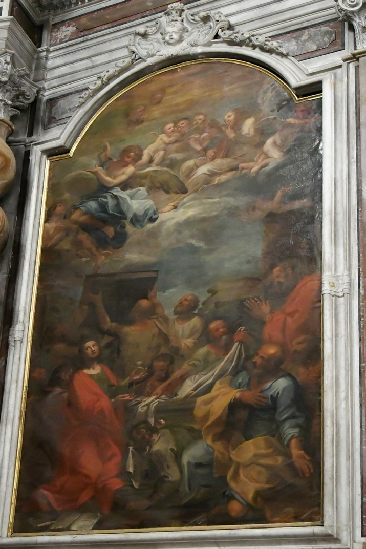 """Quadre """"Tomba de la Mare de Déu"""" del Santuari de Nostra Senyora de la Costa de Sanremo"""