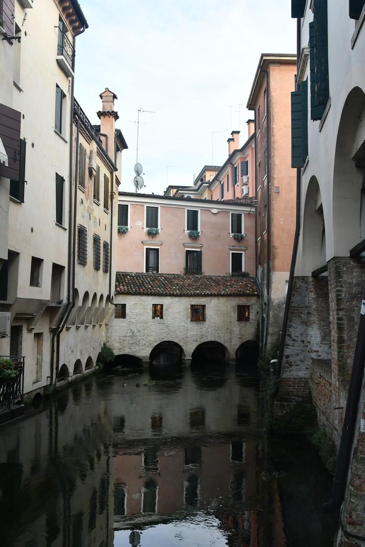 Racó del canal Buranelli de Treviso