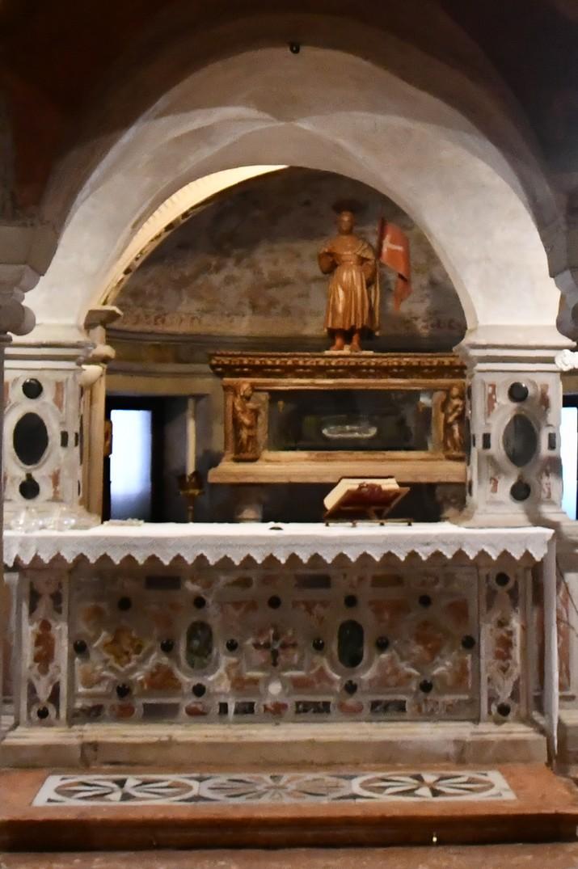Relíquies de sant Liberal de la Cripta de la Catedral de San Pere Apòstol de Treviso