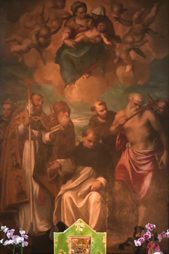 Retaule de la capella Giusti de la Basílica de Santa Anastàsia de Verona