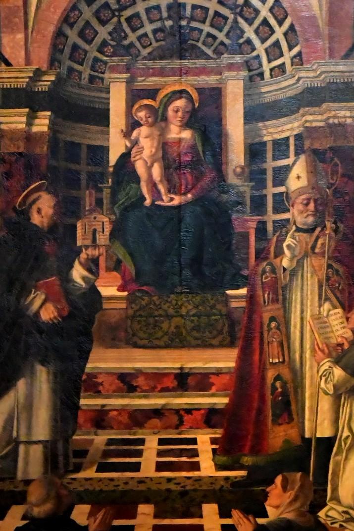Retaule de l'altar Centrego de la Basílica de Santa Anastàsia de Verona