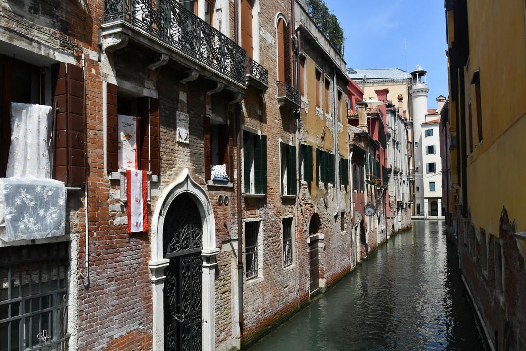 Riu de l'Alboro del barri de San Marco de Venècia