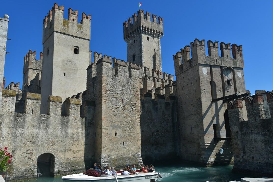Rocca Scaligera de Sirmione de Garda