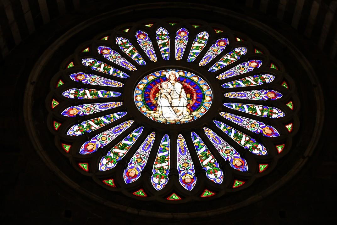 Rosassa de la Catedral de Sant Llorenç de Gènova
