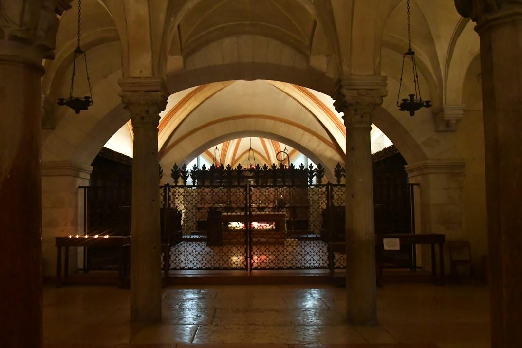 Sarcòfag de la cripta de la Basílica de Sant Zenó de Verona