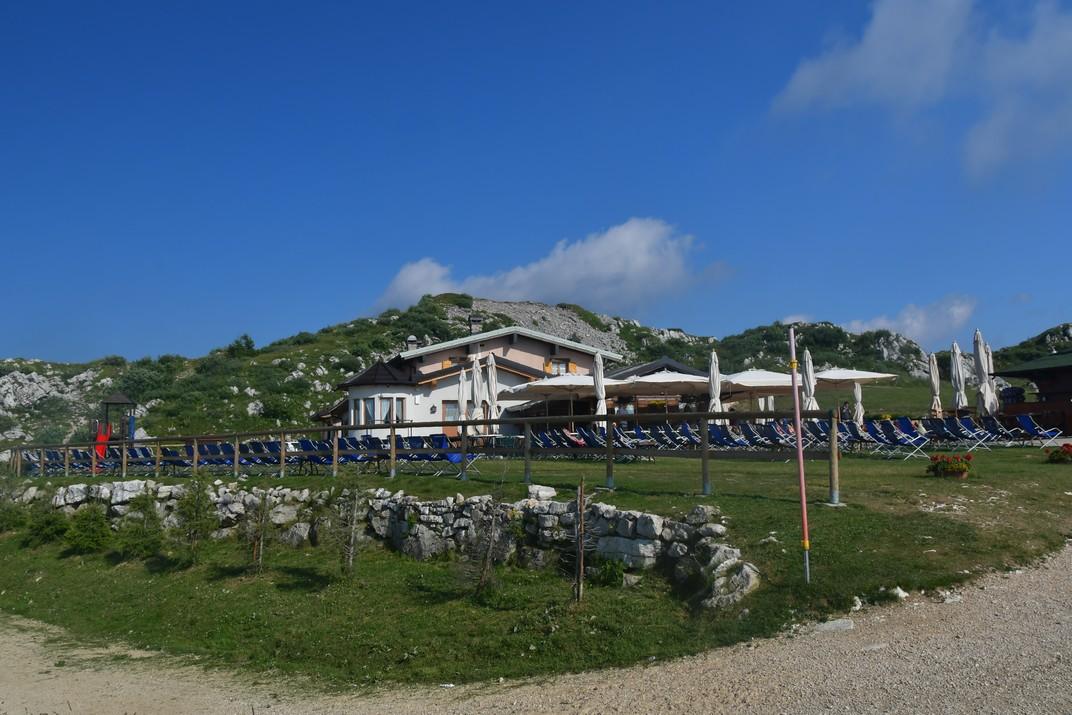 Terrasses Colma de Malcesine del Mont Baldo de Garda