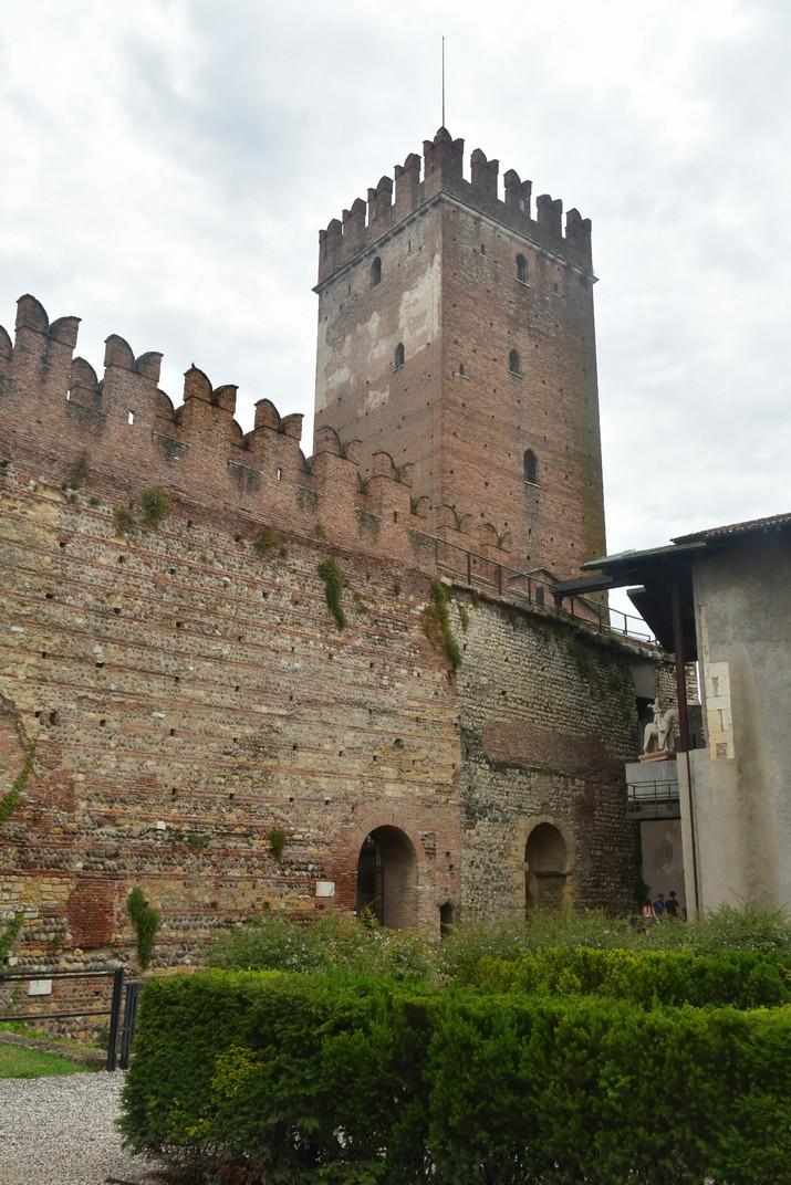 Torrassa Mastio de Castelvecchio de Verona