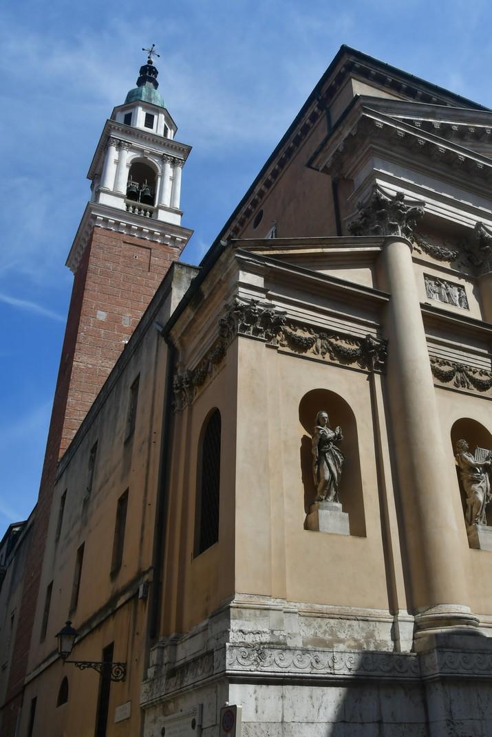 Torre de l'església de Sant Marcel de Vicenza