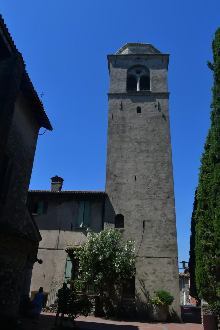 Torre de l'església de Santa Maria Major de Sirmione de Garda