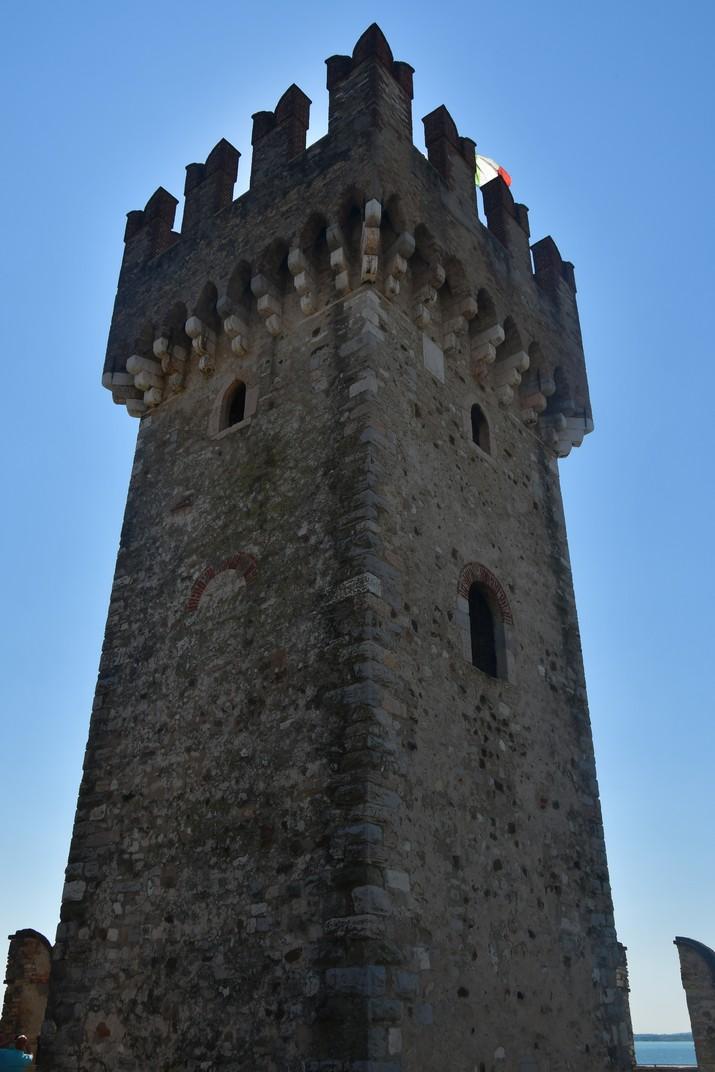 Torre de l'homenatge de la Rocca Scaligera de Sirmione de Garda