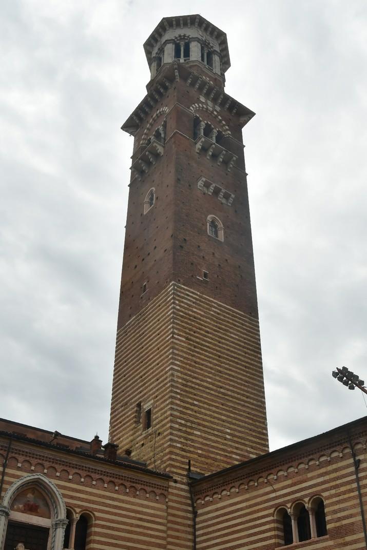 Torre del Lamberti del palau de la Ragione de la plaça dels Signori de Verona