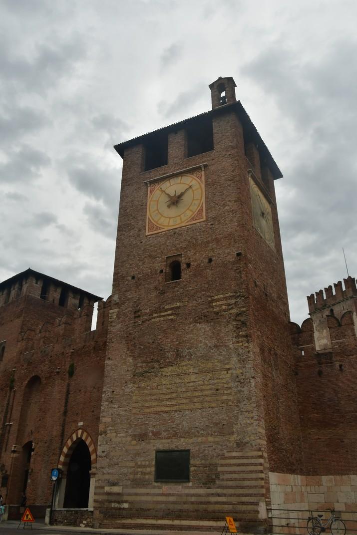 Torre del rellotge de Castelvecchio de Verona