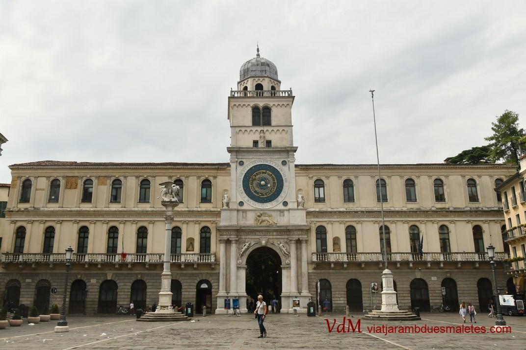 Torre del Rellotge i Palau de Capitania de Pàdua