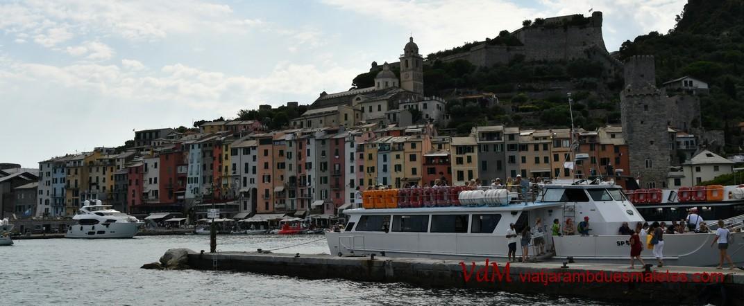 Vaixell de Portovenere a Riomaggiore