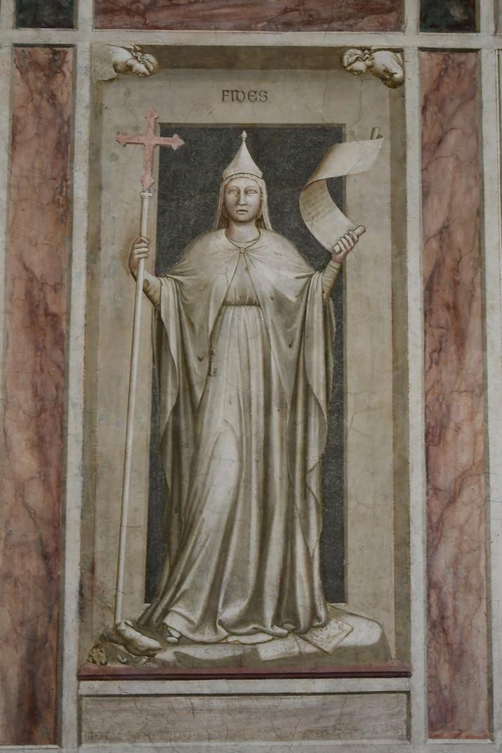 Virtuts de la capella dels Scrovegni de Pàdua