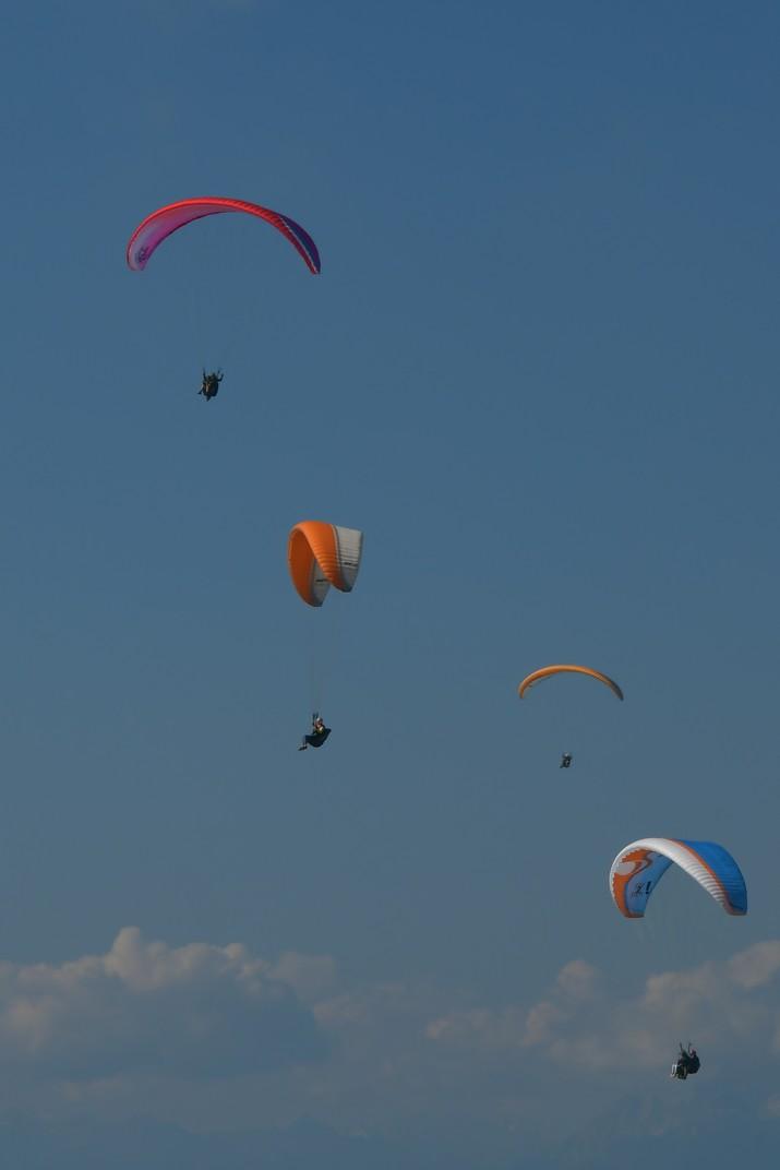 Vol de parapent del Mont Baldo de Garda